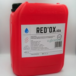 Preparat do dezynfekcji Red'Ox Ag6. 5000 ml. Z gliceryną.